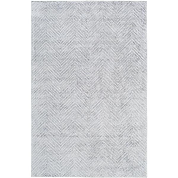 Surya Quartz Modern Area Rug - 12-ft x 15-ft - Rectangular - Pale Blue