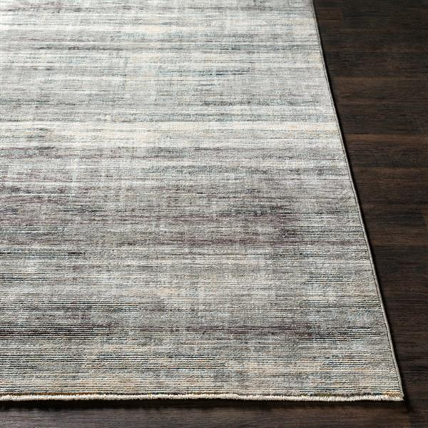 Surya Presidential Modern Area Rug - 9-ft x 13-ft 1-in - Rectangular - Gray