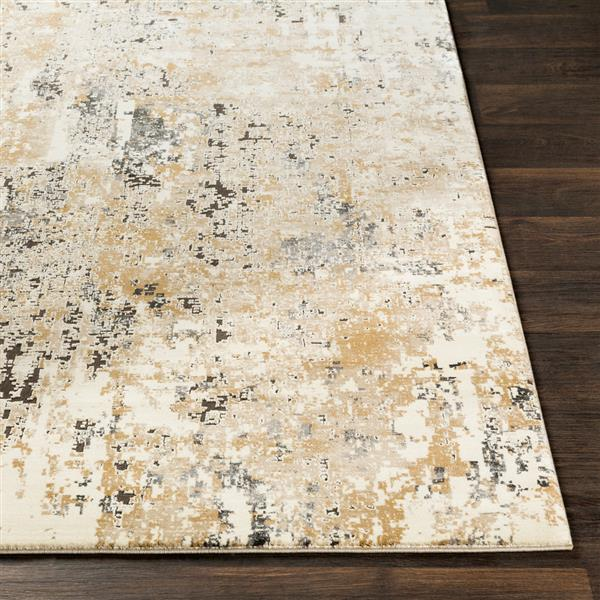 Surya Pune Modern Area Rug - 9-ft 3-in x 12-ft 3-in - Rectangular - Beige