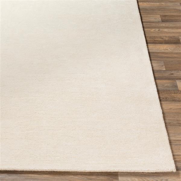 Surya Strada Solide Area Rug - 8-ft x 10-ft - Rectangular - Cream