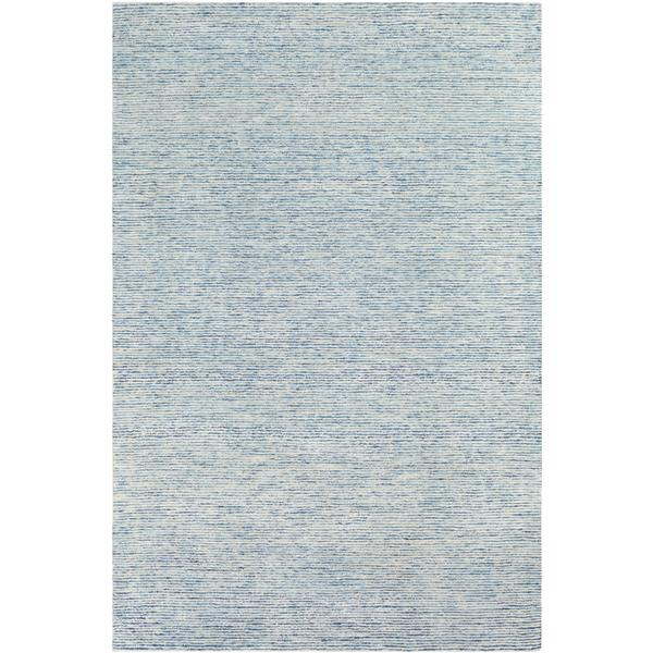 Surya Strada Solide Area Rug - 8-ft x 10-ft - Rectangular - Pale Blue