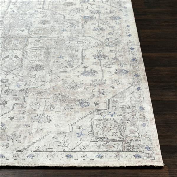 Surya Wonder Rectangular Transitional Area Rug - 7-ft 10-in x 10-ft 3-in - Grey