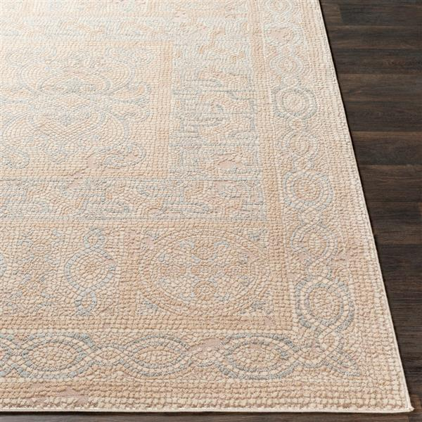 Surya Venezia Rectangular Area Rug - 7-ft 10-in x 10-ft 3-in - Beige