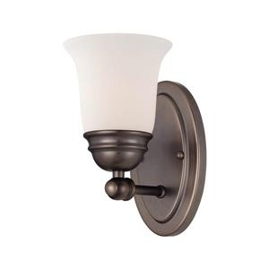 Thomas Lighting Bella Wall Sconce - 1-Light - 4.5-in x 13.75-in - Oiled Bronze