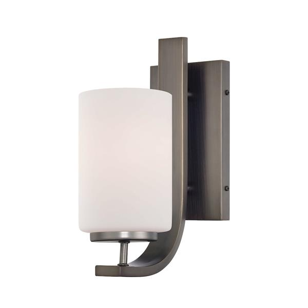 Thomas Lighting Pendenza Wall Sconce - 1-Light - 4.5-in x 10.75-in - Oiled Bronze
