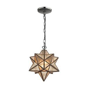 ELK Home Moravian Star Pendant Light - 1-Light - Bronze