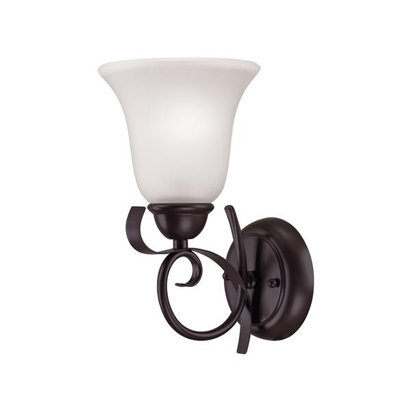 Thomas Lighting Brighton Wall Sconce - 1-Light - 6-in x 11-in - Oil Rubbed Bronze