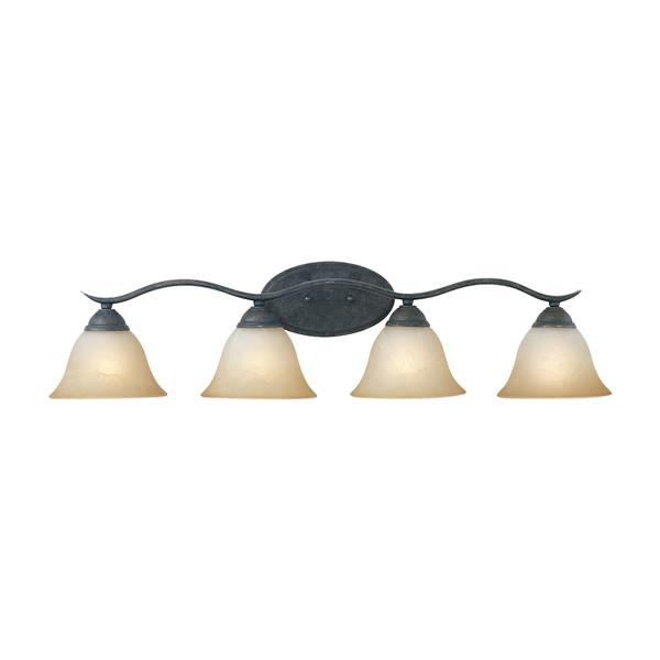 Thomas Lighting Prestige Bathroom Vanity Light - 4-Light - 36-in - Sable Bronze