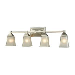 Thomas Lighting Sinclair Bathroom Vanity Light - 4-Light - 30.5-in - Brushed Nickel
