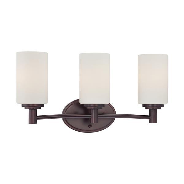 Thomas Lighting Pittman Bathroom Vanity Light - 3-Light - 25-in - Sienna Bronze