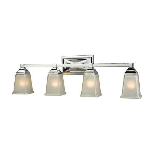 Thomas Lighting Sinclair Bathroom Vanity Light - 4-Light - 30.5-in - Polished Chrome