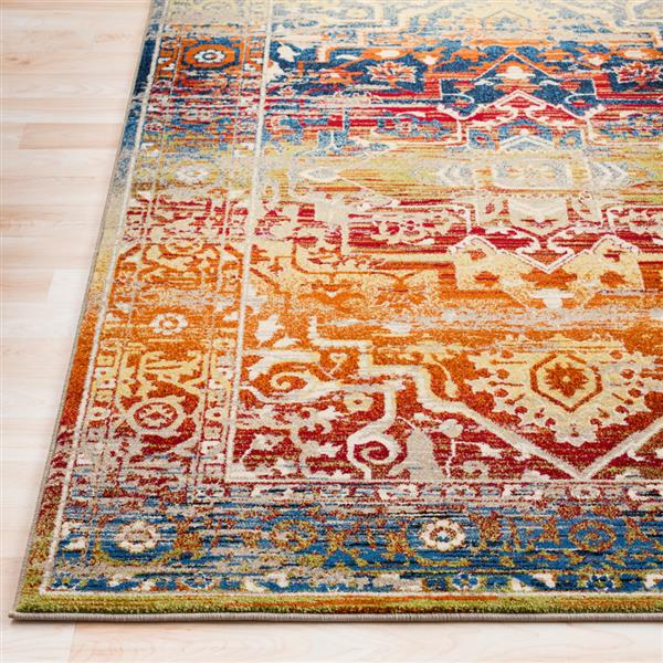 Surya Serapi Updated Traditional Area Rug - 7-ft 10-in x 10-ft 6-in - Rectangular - Multi
