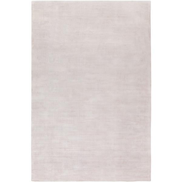 Surya Viola Solid Area Rug - 8-ft x 10-ft - Rectangular - Taupe