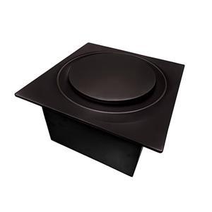 Ventillateur de salle bains G16 Series de Aero Pure, 80 PCM, 0,4 Sones, bronze huilé