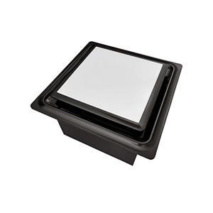 Ventillateur de salle bains L5 Series de Aero Pure, 110 PCM, 0,9 Sones, bronze huilé