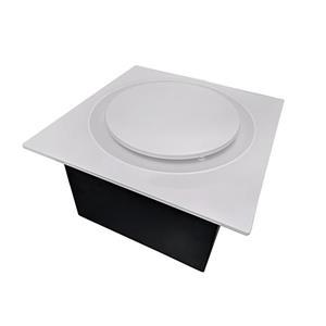 Ventillateur de salle bains G16 Series de Aero Pure, 80 PCM, 0,4 Sones, blanc
