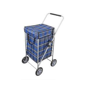 Metaltex  Explorer Shopping Cart - Blue