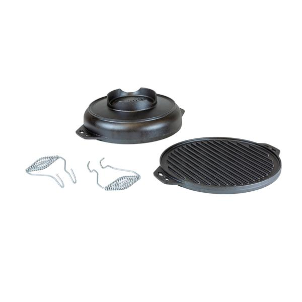 Lodge Cast Iron Cook-It-All - 14.7-in. - Black