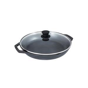 Poêle en fonte avec couvercle Chef's Collection de Lodge, 12 po