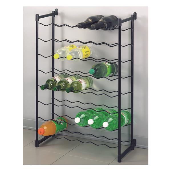 Metaltex Merlot Wine Rack - 48 bottles - Metal - Gray
