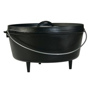 Lodge Cast Iron Deep Camp Dutch Oven - 14-in.