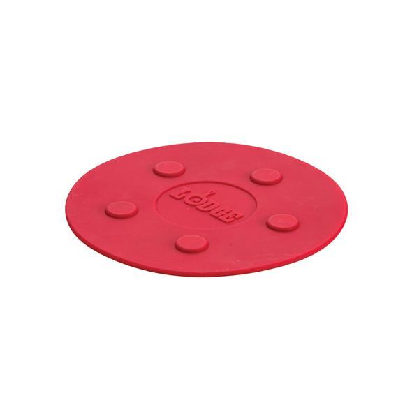 Sous-plat magnetique, 8 po, rouge