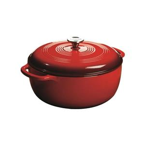 Lodge Enamel Dutch Oven - 7.5 qt. - Red