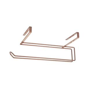 Metaltex Easy Roll Mounted Paper Roll Holder - Copper