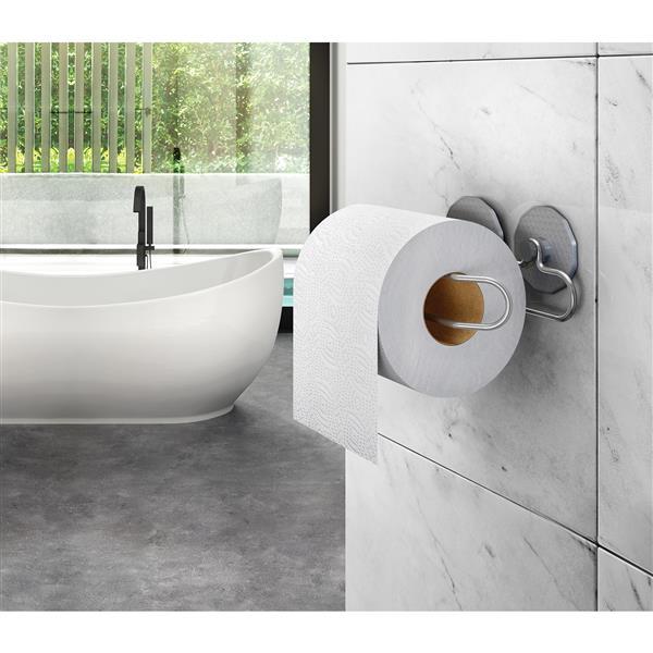 Metaltex Artic Toilet Paper Holder - Metal - White