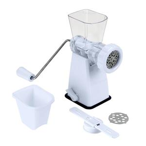 Metaltex Tartare Manual Meat Mincer - White