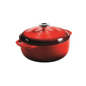 Lodge Enamel Dutch Oven - 4.5 qt. - Red