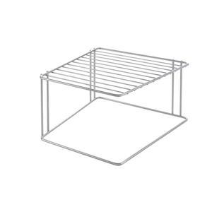 Porte-assiettes en angle Boxe de Metaltex, gris