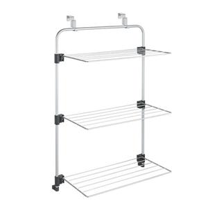 Metaltex Gale Wall-Mounted Laundry Airer - 22.44 x 36.61 x 12.2-in. - Gray