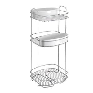 Metaltex Orbit 3-Tier Storage Rack - Metal - White