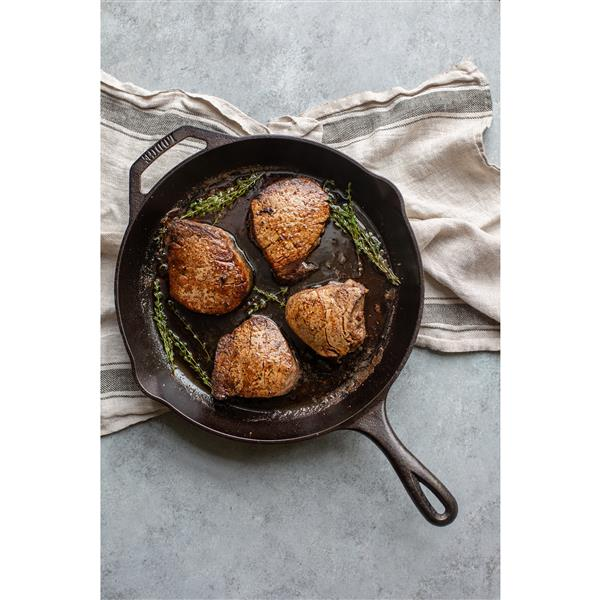 Lodge Chef's Collection Cast Iron Skillet - 12-in.