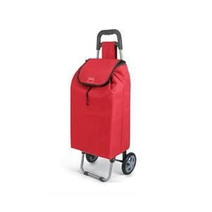 Metaltex Daphne Shopping Trolley - Red