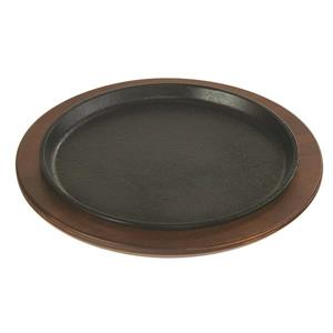 Lodge Round Handleless Serving Griddle - 9.25-in.