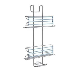 Metaltex Butler 3-Tier Expandable Shower Caddy - Gray