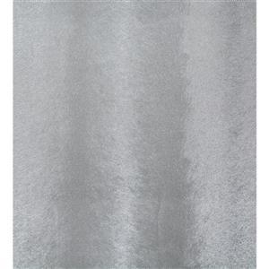 Dundee Deco Falkirk Ophia Wallpaper Roll - Random Lines - Silver and Dark Grey
