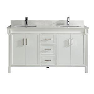 Meuble-lavabo Sedona, 63 po, blanc