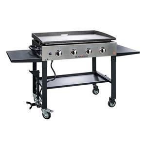 Table de cuisson Blackstone à plaque chauffante, 36 po, façade en inox