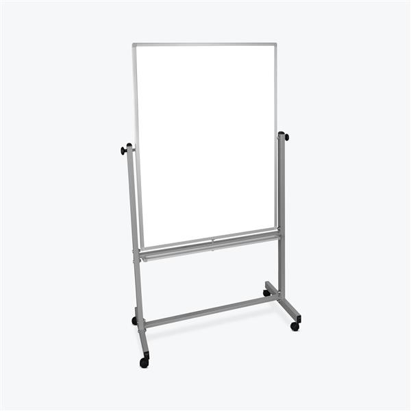 Luxor Double-Sided Magnetic Whiteboard - 36-in x 48-in
