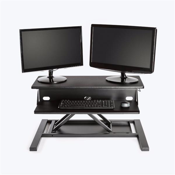 Luxor Level Up Pro 32-in Standing Desk Converter - Black