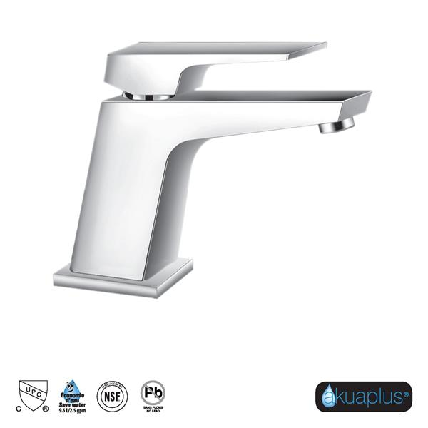 akuaplus® IRENE Lavatory Faucet - Single Handle - Chrome