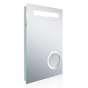 American ImaginationsRectangle LED Backlit Mirror - 18-in - Aluminum
