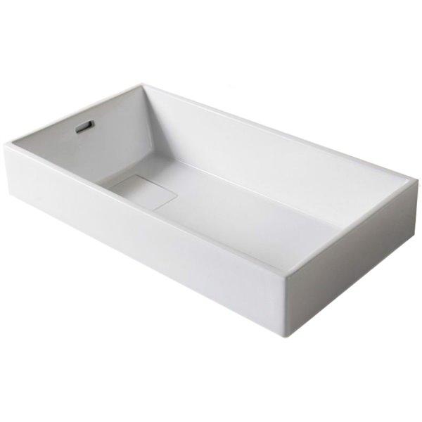 Vasque de American Imaginations, 28 po, blanc