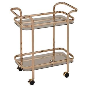 WHI 2 Tier Bar Cart - Gold