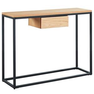 Table console en placage de chêne WHI