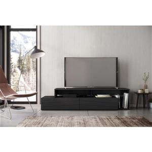 Nexera 112006 Tonik TV Stand -  72-inch -  Black