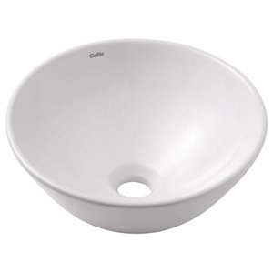 Cheviot Water Vessel Bathroom Sink - 13.75-in - White